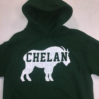 Image of Goat Silhouette Hoodie