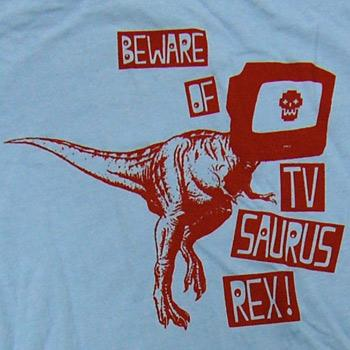 Image of TV Saurus Tee